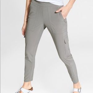 Athleta Chelsea Cargo Light Asphalt